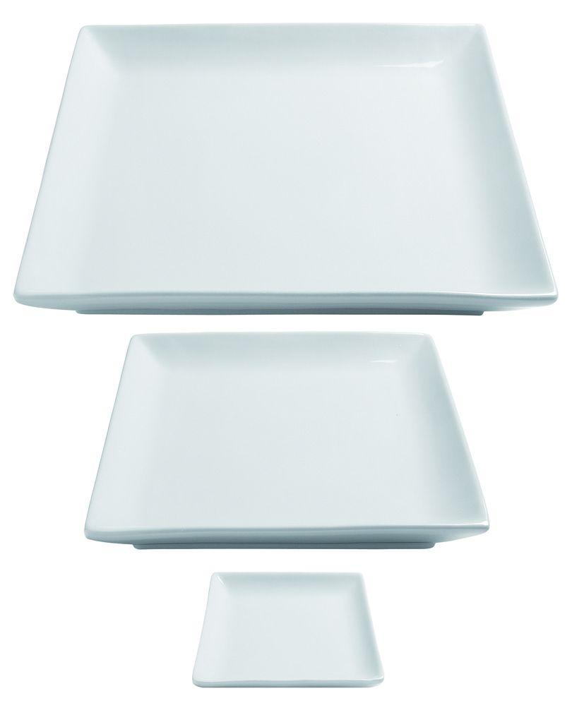 art de la table assiette clelia carr e. Black Bedroom Furniture Sets. Home Design Ideas
