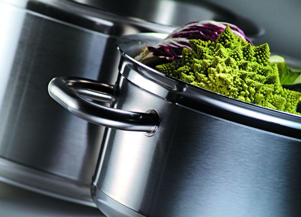 Materiel de cuisine braisi re tradition inox bourgeat for Equipement cuisine inox