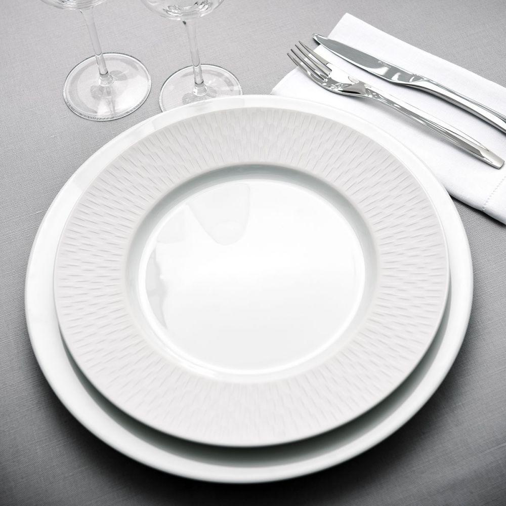 Art de la table assiette boreal satin pr sentation for Art de la table vaisselle
